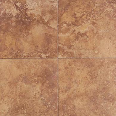 American Olean Pietre Di Serre 4 X 4 Rosso Tile & Stone