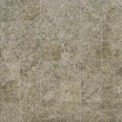 American Olean Porte Leona Mosaic Verde Tile & Rock