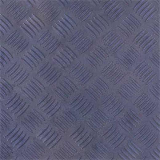 Amtico Treadplate 12 X 12 Treadplate Blue Vinyl Flooring