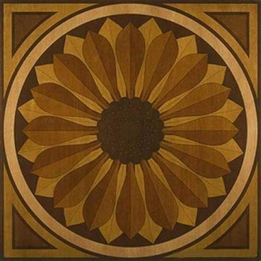 Anderson Sunflower Medallion 40 X 40 Sunflower Medallion Hardwood Flooring