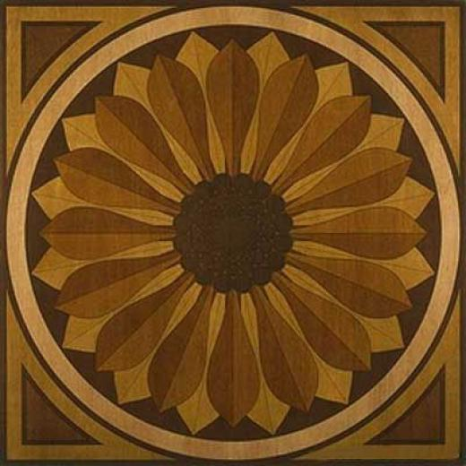 Anderson Sunflower Medallion Sunflower Hardwood Flooring