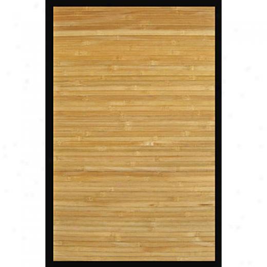 Anji Mountain Bamboo Rug, Co Contemporary 5 X 8 Natural Area Rugs