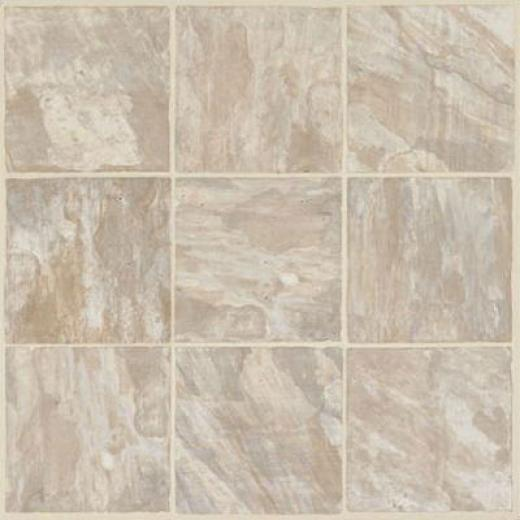 Armstrong Caliber - Self-stick Bardwin Almond Vinyl Flooring