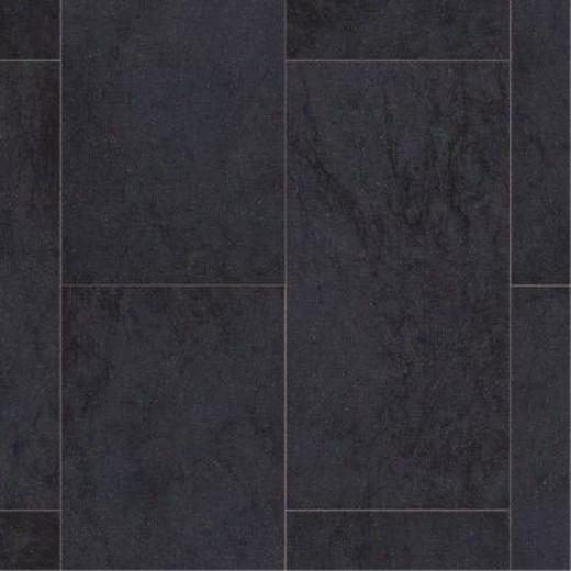 Armstrong Cushionstep Best - Amalfi Black Vinyl Flooring