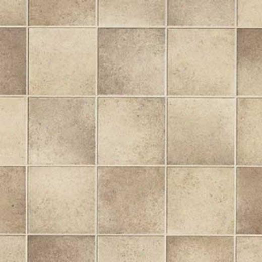 Armstrong Cushionstep Better - Tumblestone I Mocha Vinyl Flooring