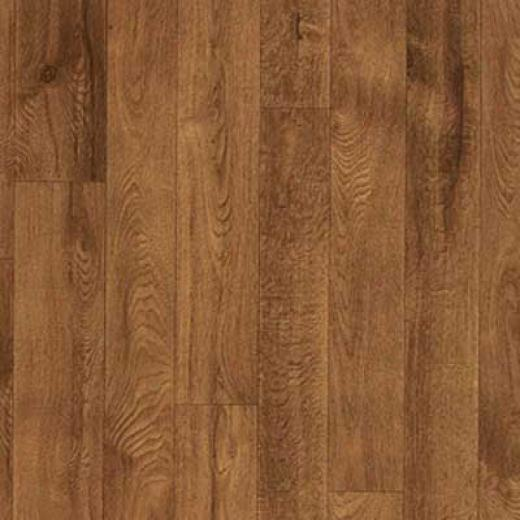 Armstrong Cushionstep Better - Rustic Oak Cherry Vinyl Flooring