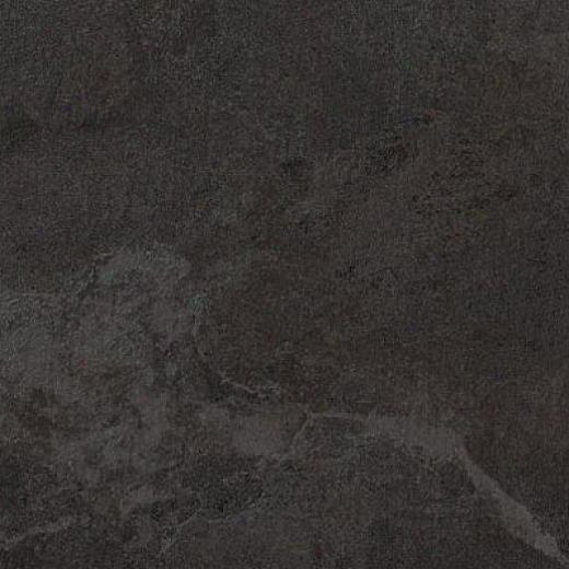 Armstrong Earthcuts 12 X 12 Temple Slate Black Vinyl Flooring