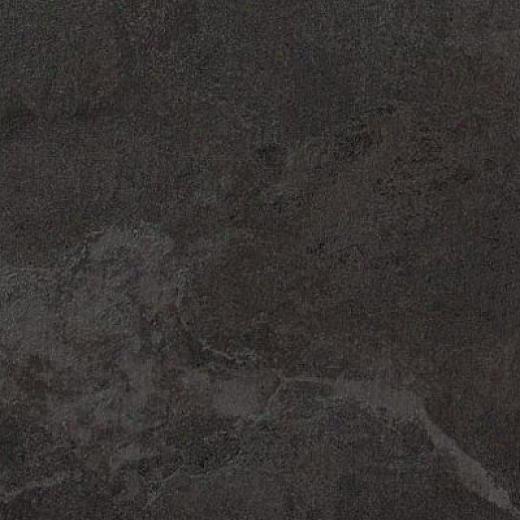 Armstrong Earthcuts 18 X 18 Temple Slate Black Vinyl Flooring