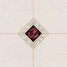 Armstrong Elegant Images Modern Inset Delft White Vinyl Flooring