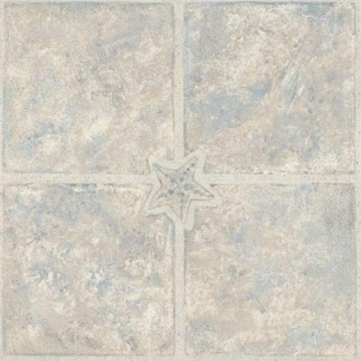Armstrrong Elston Series Bayboro Driftwood Blue Vinyl Flooring