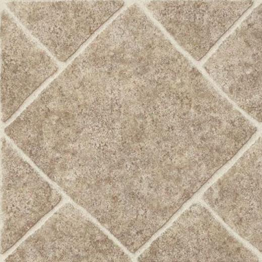 Armstrong Elston Series Diamond Limestone Umber Vinyl Flooring