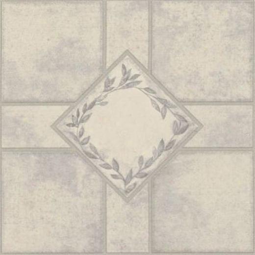 Armstrong Elston Series Floral Diamond Plum Vinyl Flooring