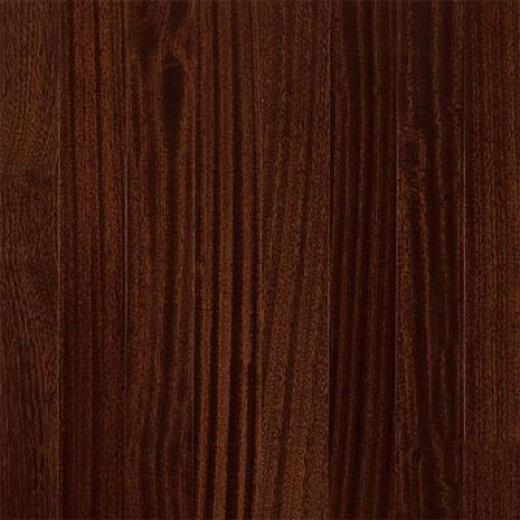 Armstrong-hartco Global Exotics Engineered 3 1/2 African Mahogany Burnished Sable Hardwood Flooring