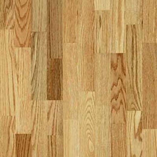Armstrong-hartco Locking Hardwood V-groove Natural Hardwood Flooring