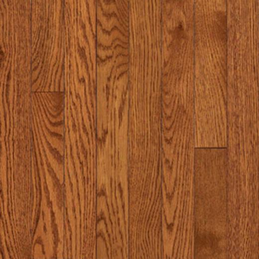 Armstrong-hartco Somerset Solid Plank - Low Gloss (lg) Spice Brown Hardwood Flooring