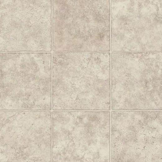 Armstrong Stratamax - Sonora Stone 12 Pearl White Vinyl Flooring