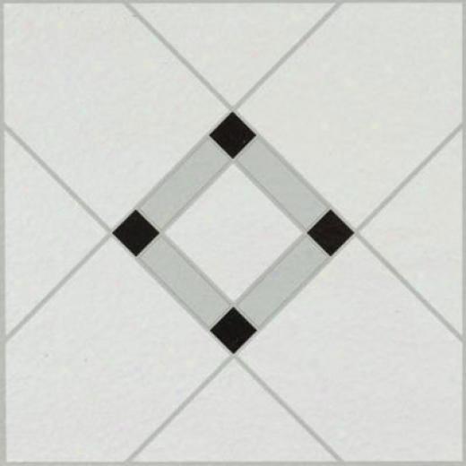 Armstrong Units - Dry Back Lattice Lane Black White Vinyl Flooring