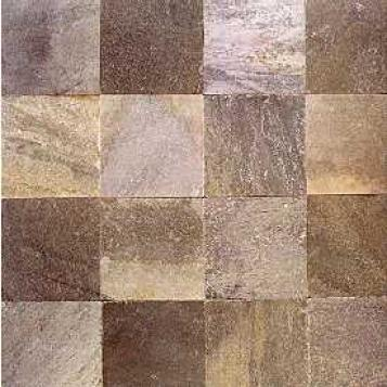 Asc Slate Sequoia Sunset Slate 12 X 12 Morning Mist (quartzite) Tile & Stone