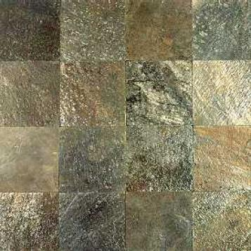 Asc Slate Venetian Waterways Slate 12 X 12 Moonlit Currents (quartzite) Tile & Stone