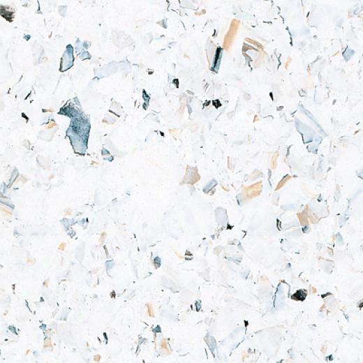Azrock Milano White Vinyl Flooring