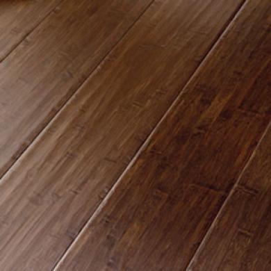 Bamboo By Natural Cork Handscraped Bamboo Solid Jacobean Bamboo Flooring