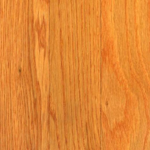 Bruce Natufal Choice Low Gloss Strip White Oak Butter-rum Hardwoo Flooring