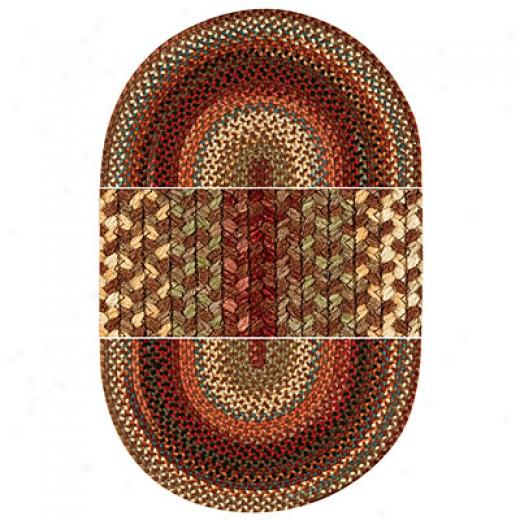 Capel Rugs Americana 3 Ft Round Mocha Area Rugs