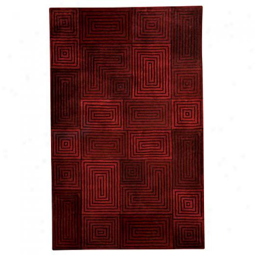 Capel Rugs Andes 3 X 5 Paprika Area Rugs