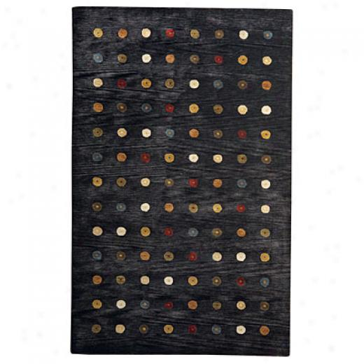 Capel Rugs Andes 7 X 9 Charcoal Area Rugs
