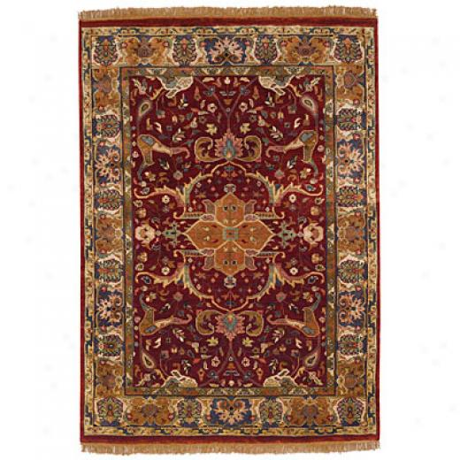 Capel Rugs Babylon - Kimran 9 X 12 Red Area Rugs