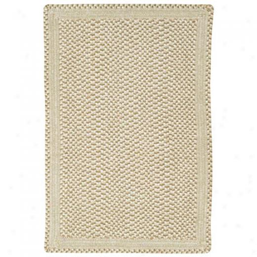 Caowl Rugs Basketweave 4 X 6 Parchment Area Rugs