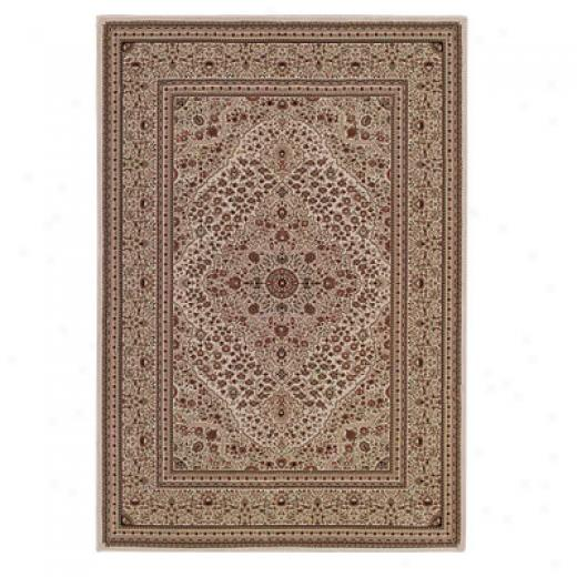 Capel Rugs Belmont - Kashan 8 X 11 Ivory Area Rugs