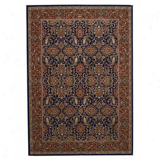 Capel Rugs Belmont - Meshed 4 X 5 Blue Area Rugs
