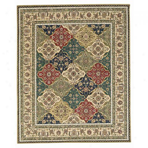 Capel Rugs Burma Silk- Panel 4x5 Multi Arsa Rugs