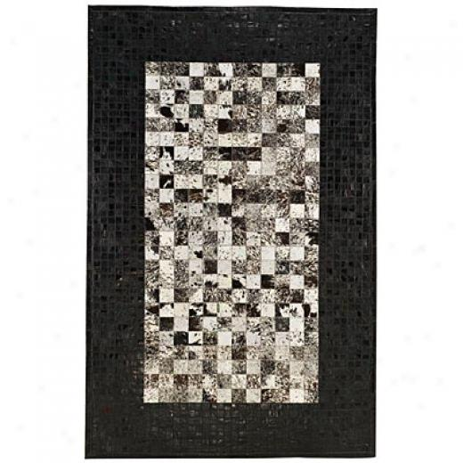Capel Rugs Chapparral - Ostrich 5 X 8 Black Area Rugs