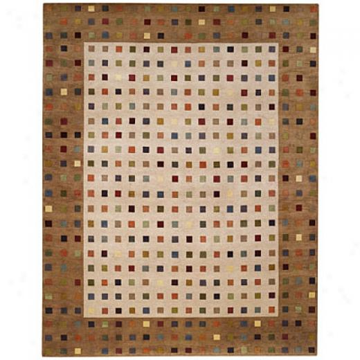 Capel Rugs Crystalle - Chips 8 X 11 Oats Area Rugs