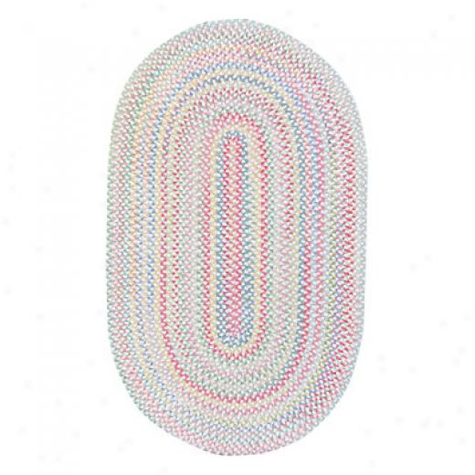 Capel Rugs Cutting Garden 5 X 8 Oval Lily Area Rugs