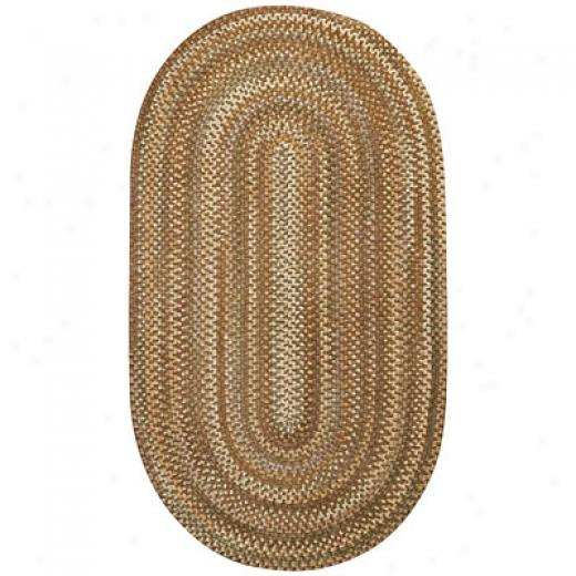 Capel Rugs Earthright 3 X 5 Oval Ceder Area Rugs