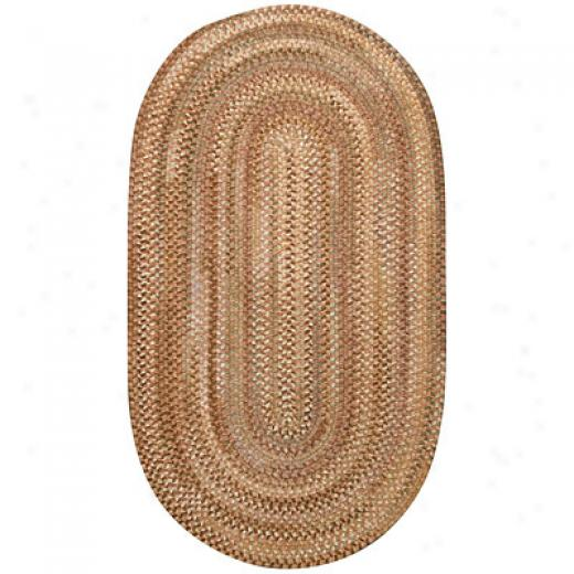Capel Rugs Earthright 5 X 8 Oval Clay Area Rugs