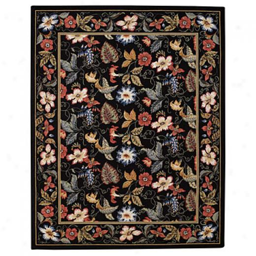 Capel Rugs English Garden 7 X 9 Onyx Area Rugs