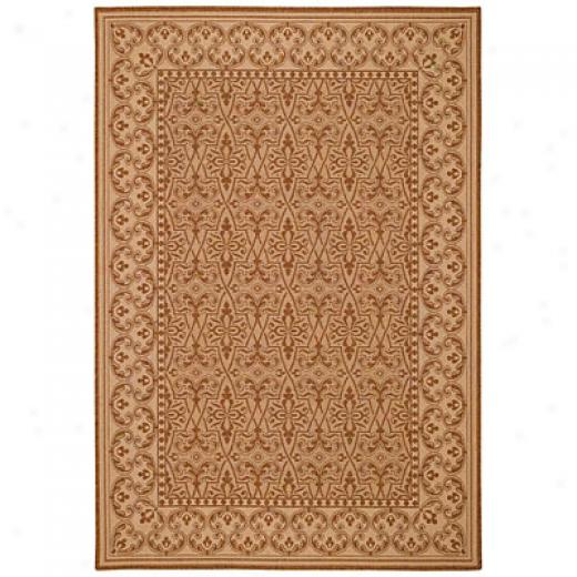 Capel Rugs Finesse - Filigree 5 X 8 Coffeecream Yard Rugs