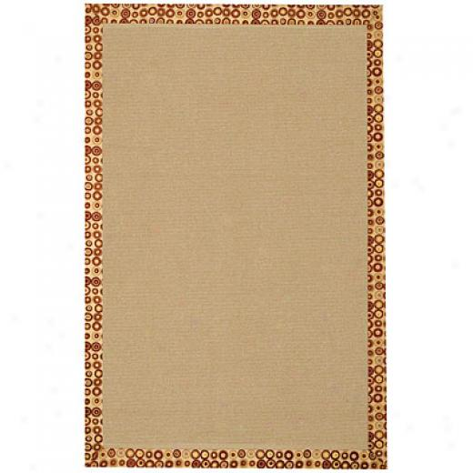 Capel Rugs Fizz 7 X 9 Cinnamon Area Rugs
