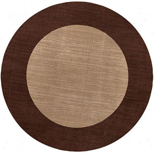 Capel Rugs Fresh Air 10 Ft Round Flax Area Rugs