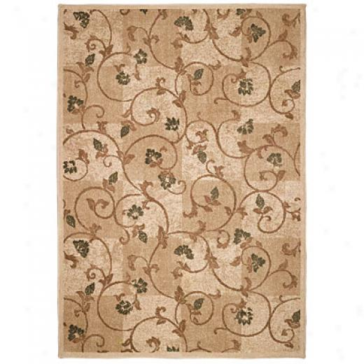 Capel Rugs Fresh Appearance 4 X 5 Flax Arra Rugs