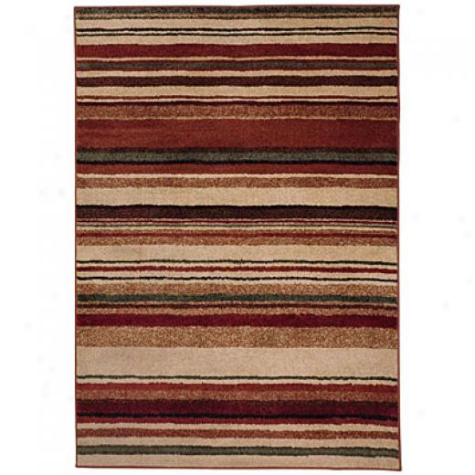 Capel Rugs Fresh Air 8 X 11 Honeymulti Area Rugs
