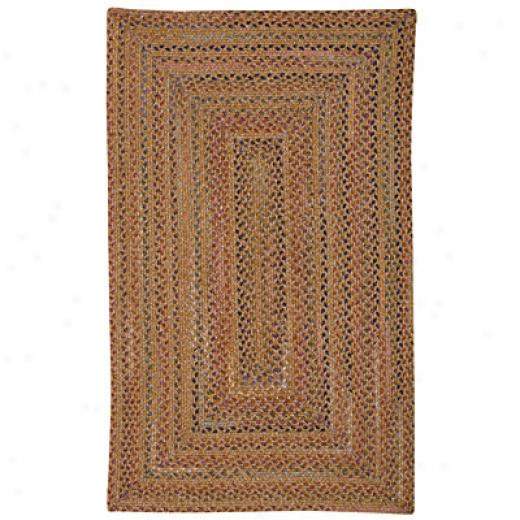 Capel Rug sGranville 9x13 Oval Goldenrod Area Rugs