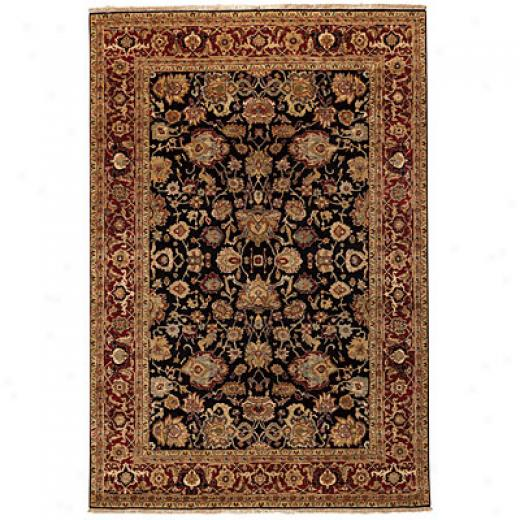 Capel Rugs Heirlooms - Mahal 8 X 10 Navyred Area Rugs