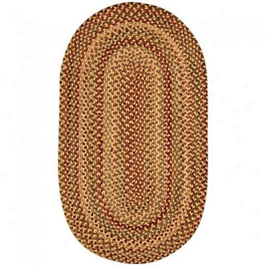 Capel Rugs Homecoming 5 X 8 Oval Wheafield Area Rugs
