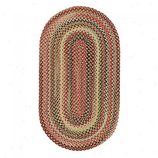 Capel Rugs In The Valley 11 X 14 Oval Antique Gold Area Rugs