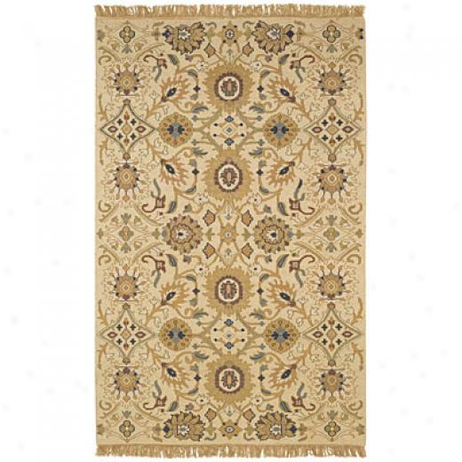 Capel Rugs Indienne - Mahal 3 X 6 Ivory Area Rugs